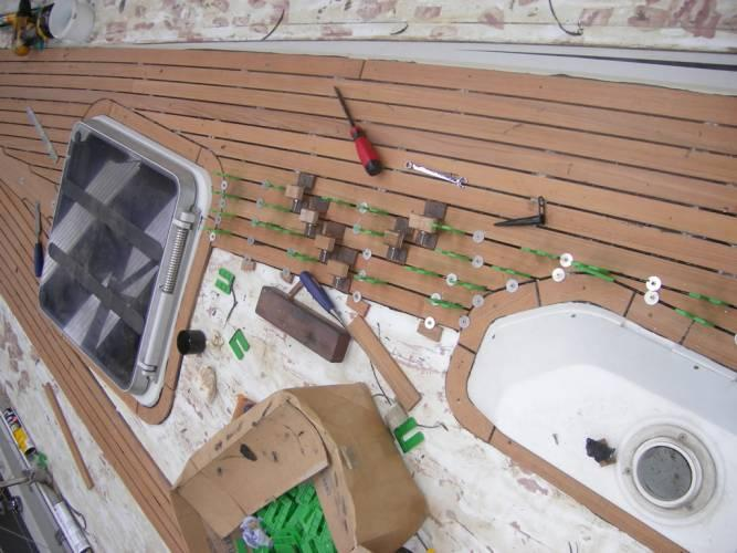 materials used for deck repair