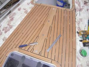 new teak deck